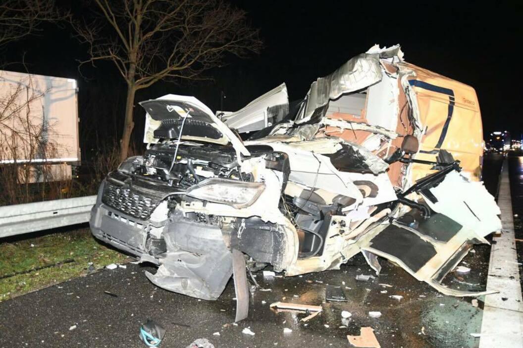 Unfall A5 Heppenheim