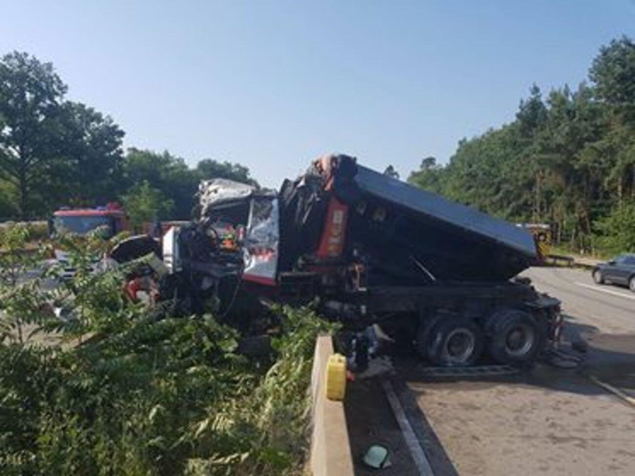 Unfall A67 Gernsheim Heute